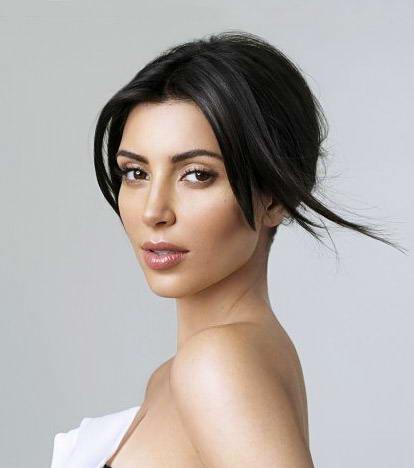 Kardashian  on Kim Kardashian New Hairstyle 001 Jpg