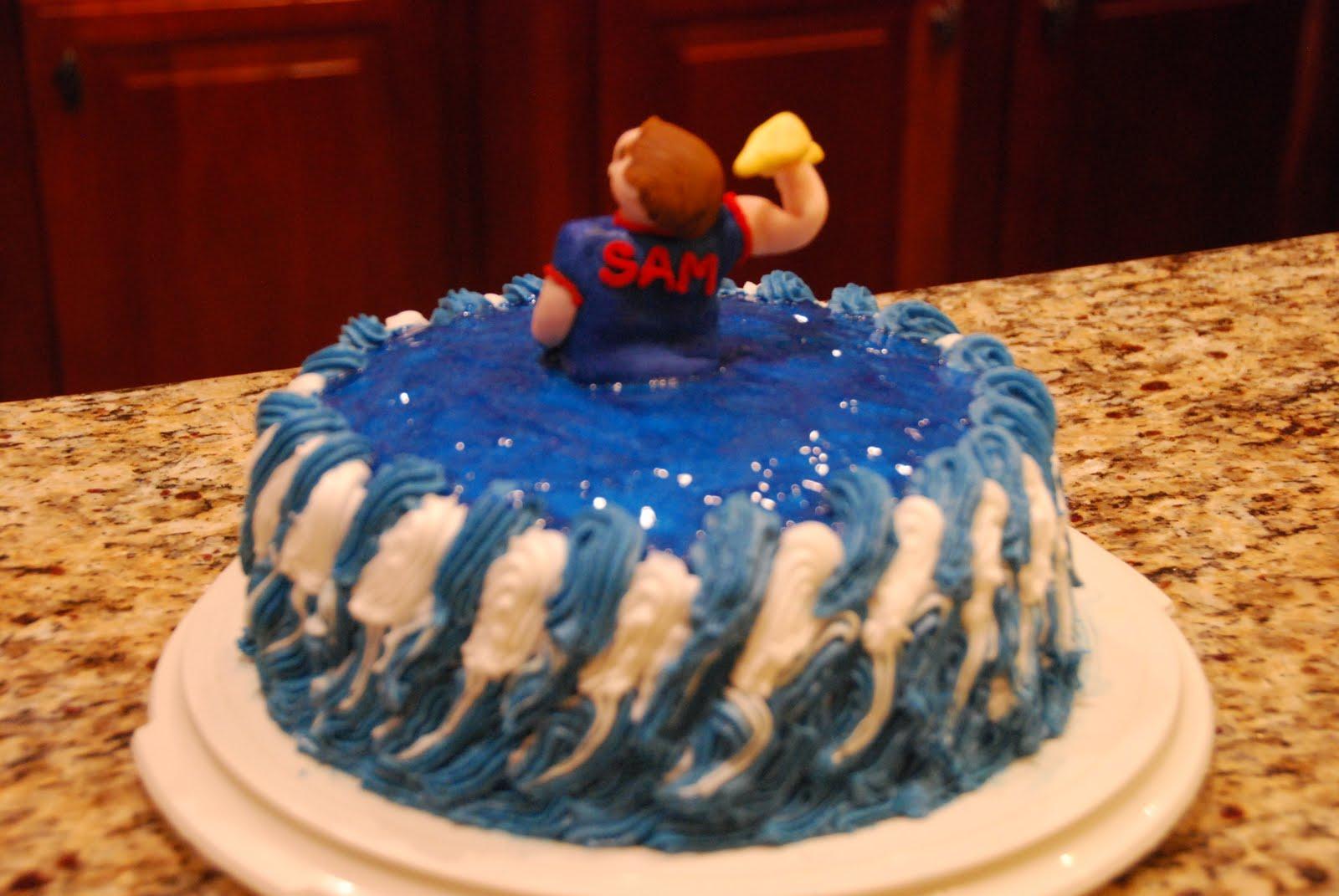 Creative Cakeworks Lightning Thief Cake