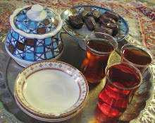 i love sipping on some persian tea while i blog