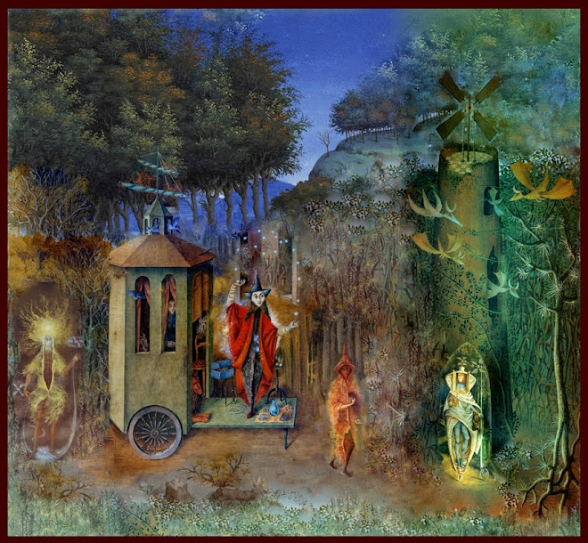 Evening of the Magicians ~ After Remedios Varo