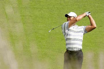 Tiger Woods at Bethpage, courtesy of USGA/John Mummert