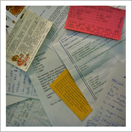 kitchen corners diy recipe cards guest post with maralee from good