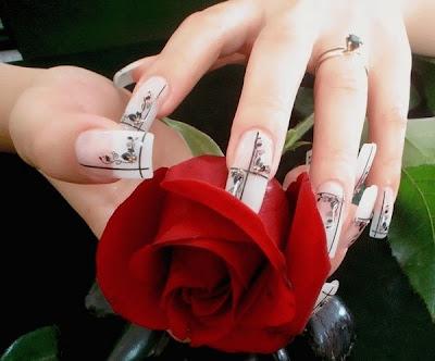unas decoradas,decoracion de unas,uñas