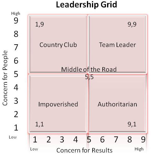 different leadership styles in different organisations
