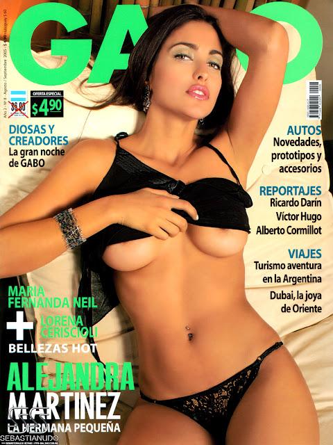 Alejandra Martinez En Una Produccion De Fotos Para La Revista Gabbo