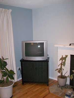 corner of the livingroom