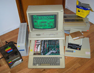 Apple //e computer