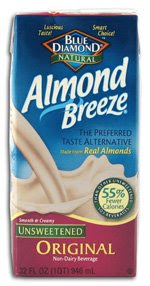 low calorie almond breeze almond milk