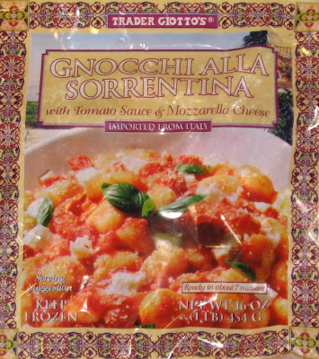 trader joes low calorie gnocchi