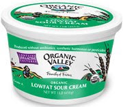 low fat, low calorie sour cream