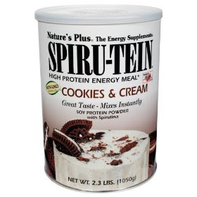 spiru-tein cookies and cream powder