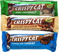 Crispy Cat Organic Candy Bars
