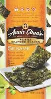 Annie chun seaweed snack
