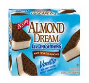 almond dream ice cream sandwiches