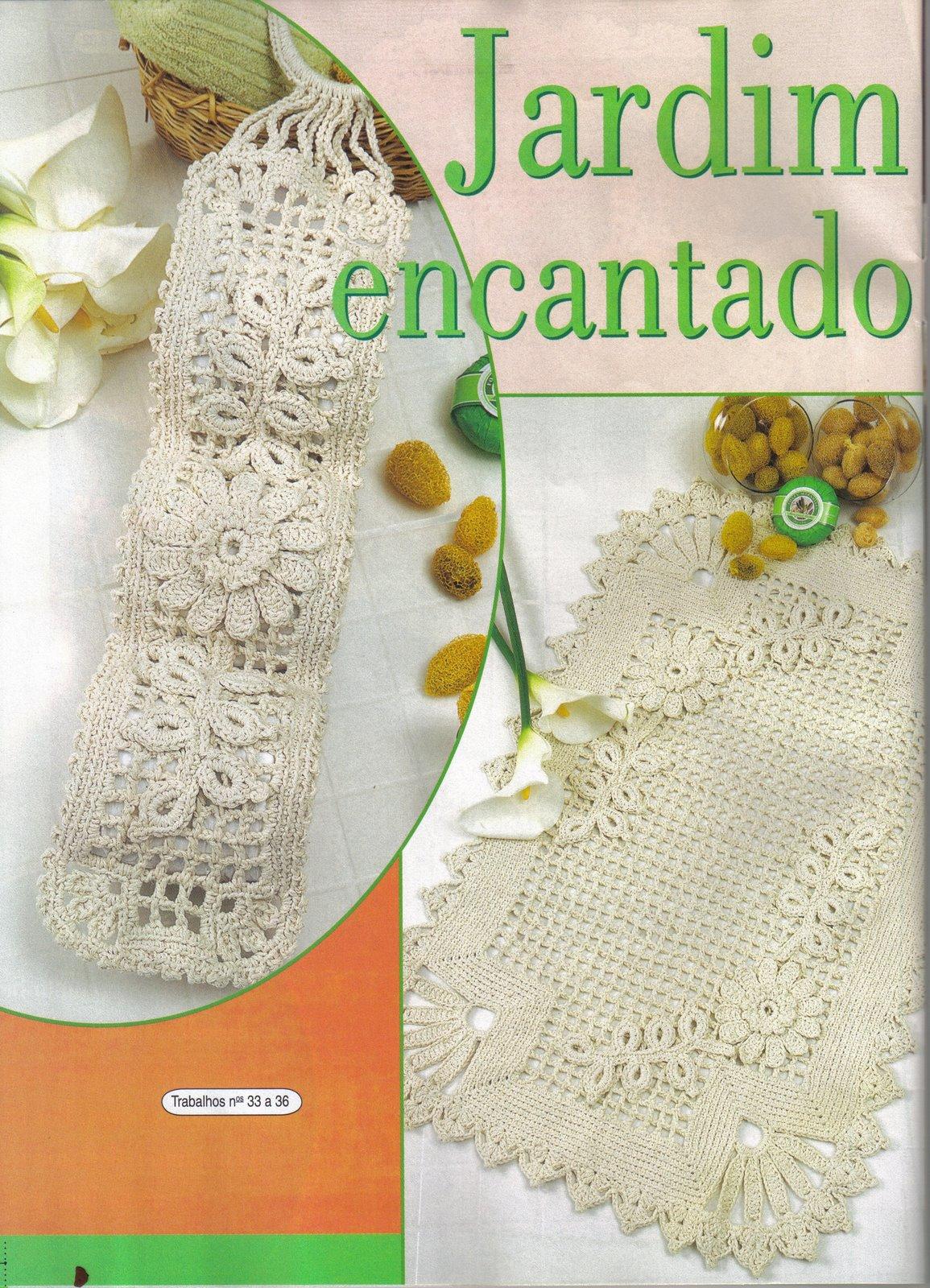 Wanda Arte em Crochê: Jogos de Banheiro #A75D24 1155 1600
