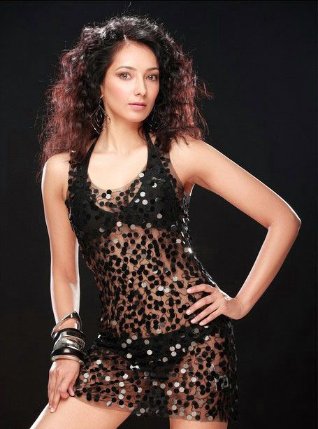 Archana Singh in black transparent skirt showing her interest