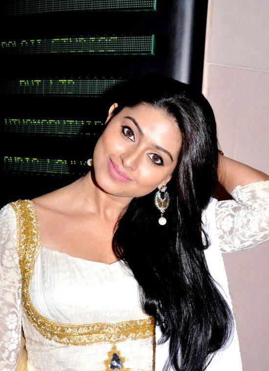 Cute Sneha in White Churidar Salwar Kameez, Latest Designer Salwar Kameez photo gallery