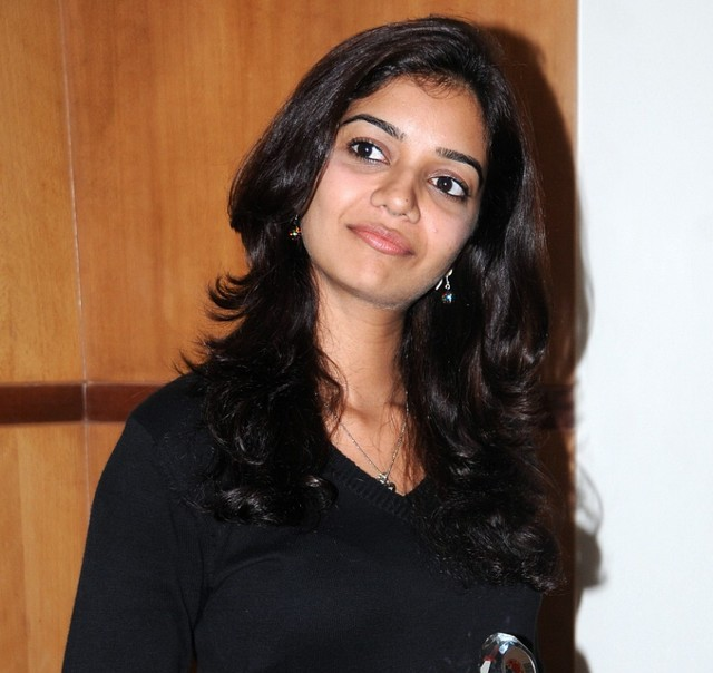 colors swathi new looking on black dress latest photos