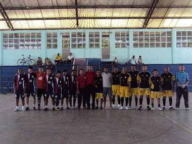 AS DUAS EQUIPES QUE FIZERAM A GRANDE FINAL DO I TORNEIO GOL DE PLACA