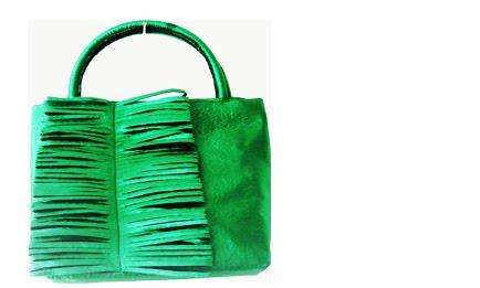 100 handbag verde
