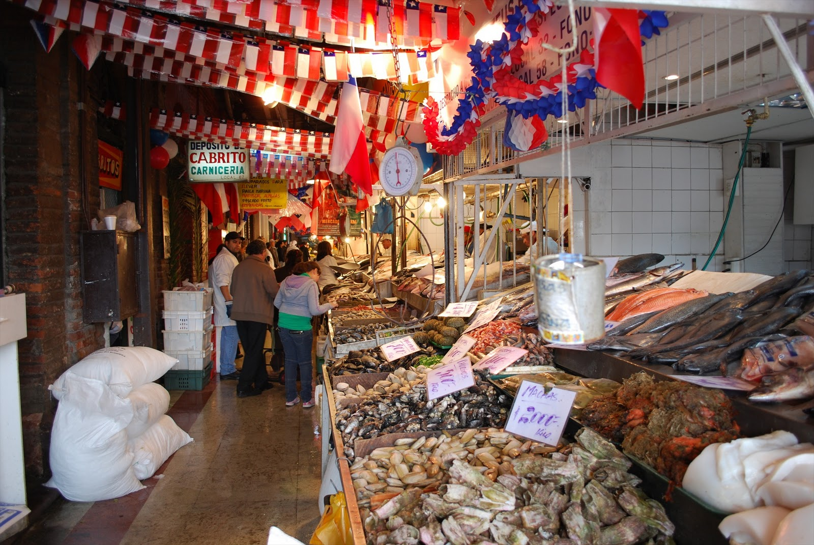 Gay travel for Central fish market