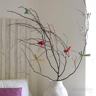 Decorar con mariposas Mariposas decorativas ikea