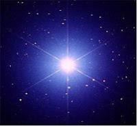 brillante estrella Sirio