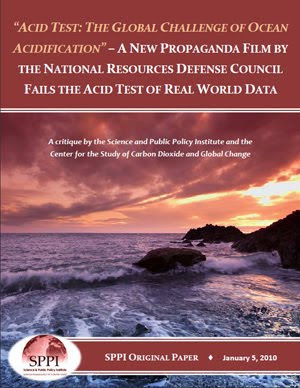 Click the image & examine the SPPI Ocean Acidification Report