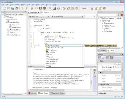 monodevelop for windows is available from source only