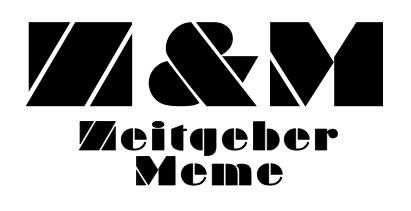 Zeitgeber & Meme