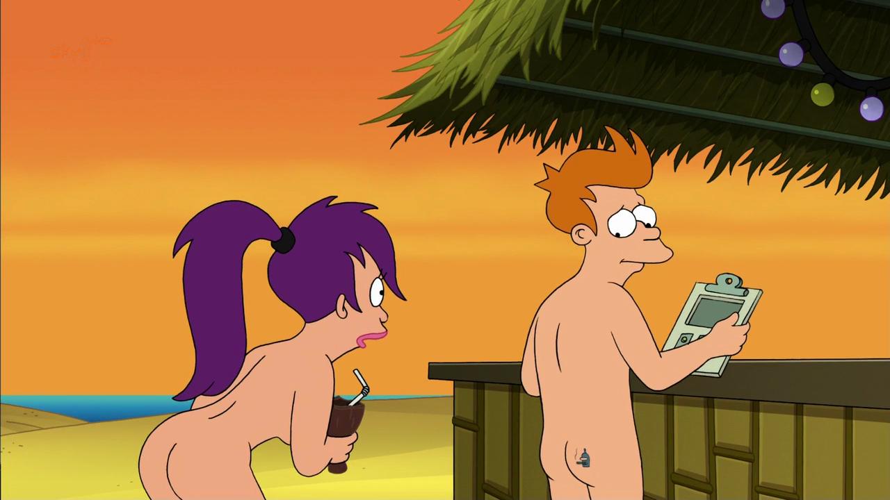 leela and amy from futurama nude