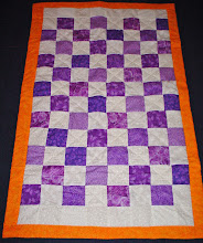 Lilac Delights Reversible Quilt