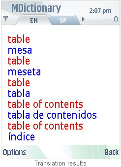 diccionario espanol traductor: