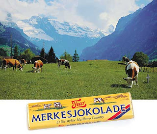 reklameanalyse for freia melkesjokolade