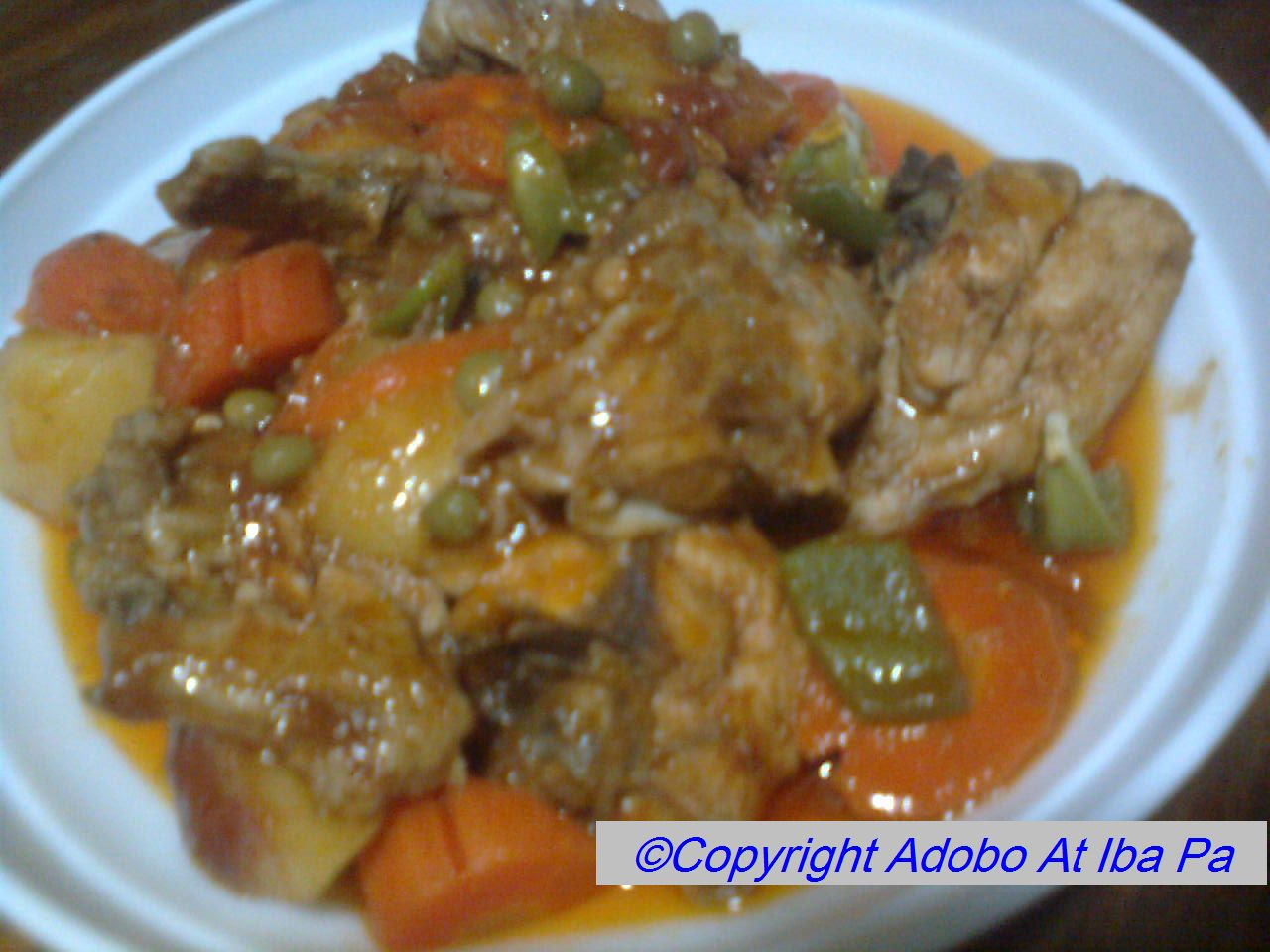 Adobo at iba pa pinoy food celebration filipino food recipe filipino food recipe chicken afritada forumfinder Gallery