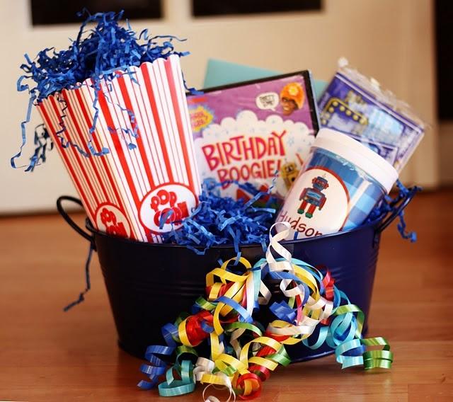 Birthday gift movie night