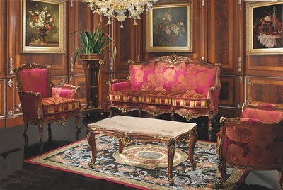 Country Style Living Room Furniture on Sitting Room Furniture Louis Xiv Style