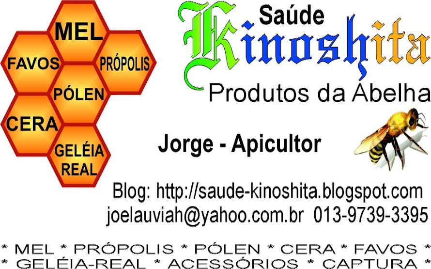 Saúde Kinoshita - Produtos Naturais da Abelha
