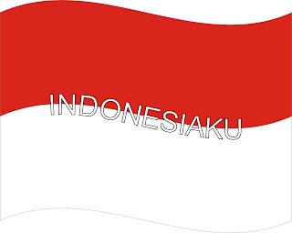 Assalamu`alaikum ^_^: bendera Indonesia ku