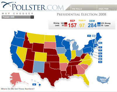 pollster.com's meta-analysis of all state polling 8-5-08