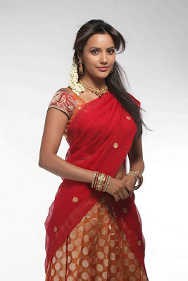 Priya Anand Photos In Half Saree