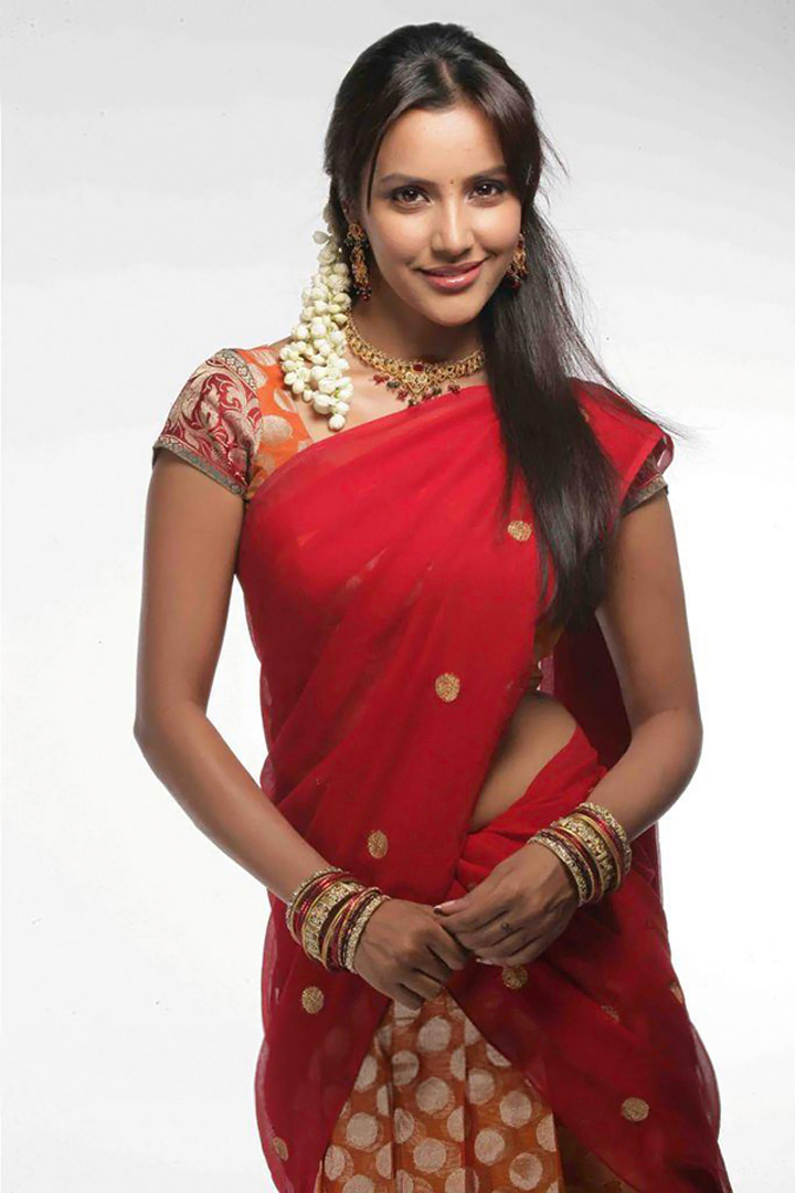 Priya Anand Hot Half Saree Stills Latest Unseen