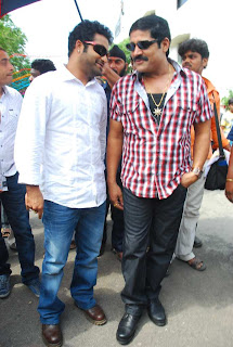 Jr NTR At Srihari's Bhairava Launch