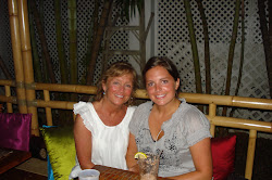 My Mom and I at Rhumb Lines