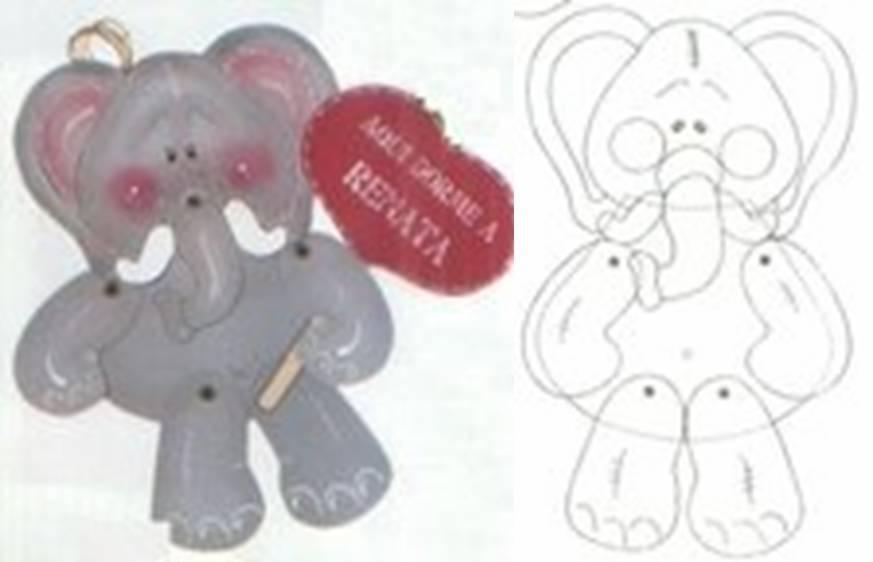 elefante articulado