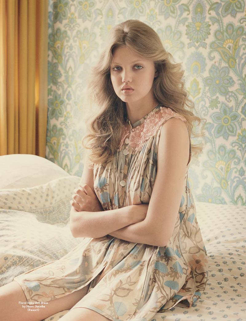 ls-models nude 2 Morning Beauty | Lindsey Wixson by Venetia Scott
