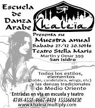 Clases Danza Arabe