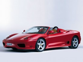 Ferrari F360 Spider Rental, Las Vegas. Exotic Cars 2010