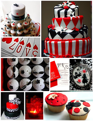 red black and white wedding ideas. Red, Black And White