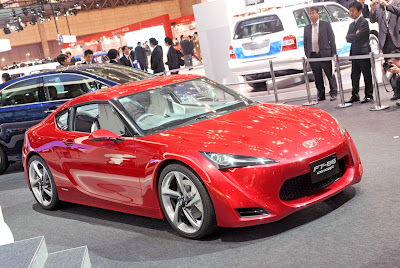 The Toyota FT-86 Concept is